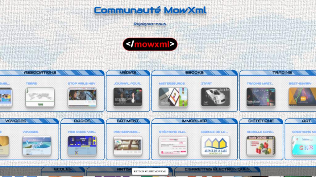 Communauté MowXml