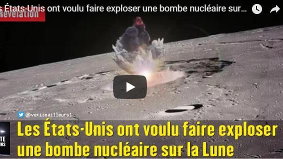 Les États-Unis ont voulu faire exploser une bombe nucléaire sur la Lune - Journal Pour ou Contre - MowXml