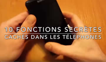10 FONCTIONS SECRÈTES CACHÉES DANS LES TÉLÉPHONES | Lama Faché - Journal Pour ou Contre - MowXml