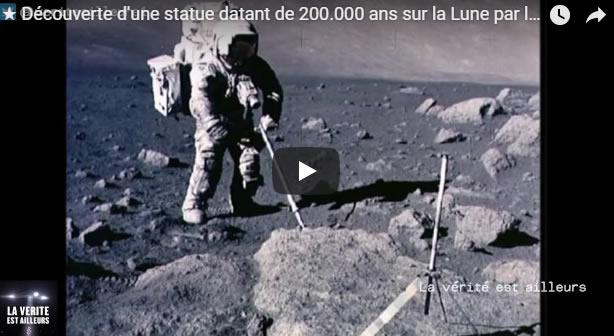 Découverte d'une statue datant de 200.000 ans sur la Lune par la mission Apollo 11 - Journal Pour ou Contre - MowXml