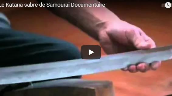 Le Katana sabre de Samourai Documentaire - Journal Pour ou Contre