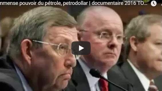 L'immense pouvoir du pétrole, petrodollar - documentaire 2016 TOP SECRET - Journal Pour ou Contre - MowXml