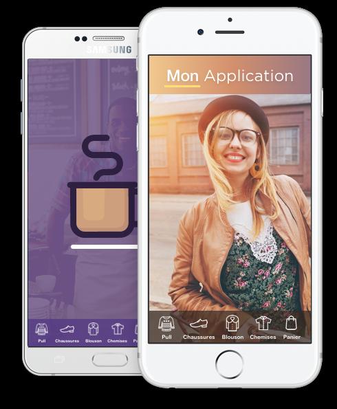 Creer son application iPhone, Android avec MowXml. La création d'application en ligne est facile avec Créer Application. Création et développement d'applications.