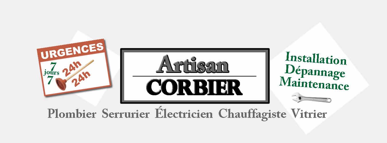 Plombier Paris, Serrurier Paris, Plombier Serrurier Paris, Artisan Corbier, Chauffagiste Paris, Électricien Paris, Vitrier Paris